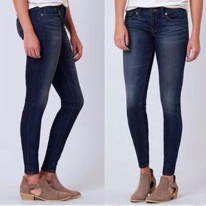 Lucky Brand Charlie Skinny Jeans Dark Wash 26